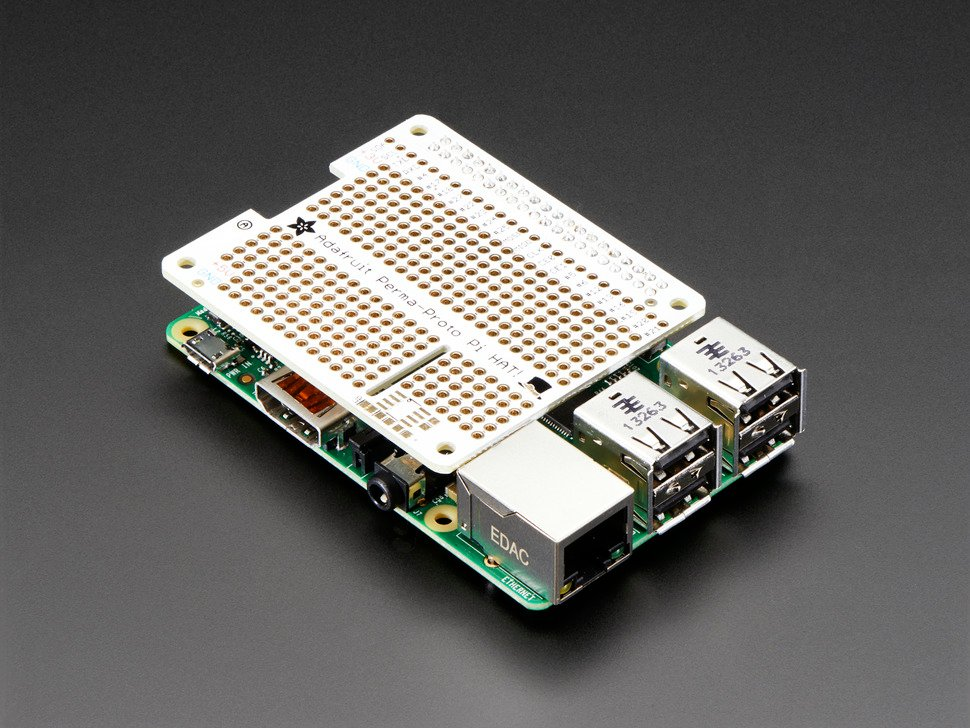 Adafruit Perma-Proto HAT for Pi Mini Kit - No EEPROM