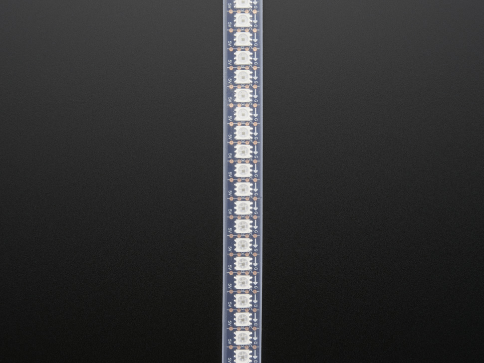 Adafruit DotStar Digital LED Strip - Black 144 LED/m - 0.5 Meter - BLACK