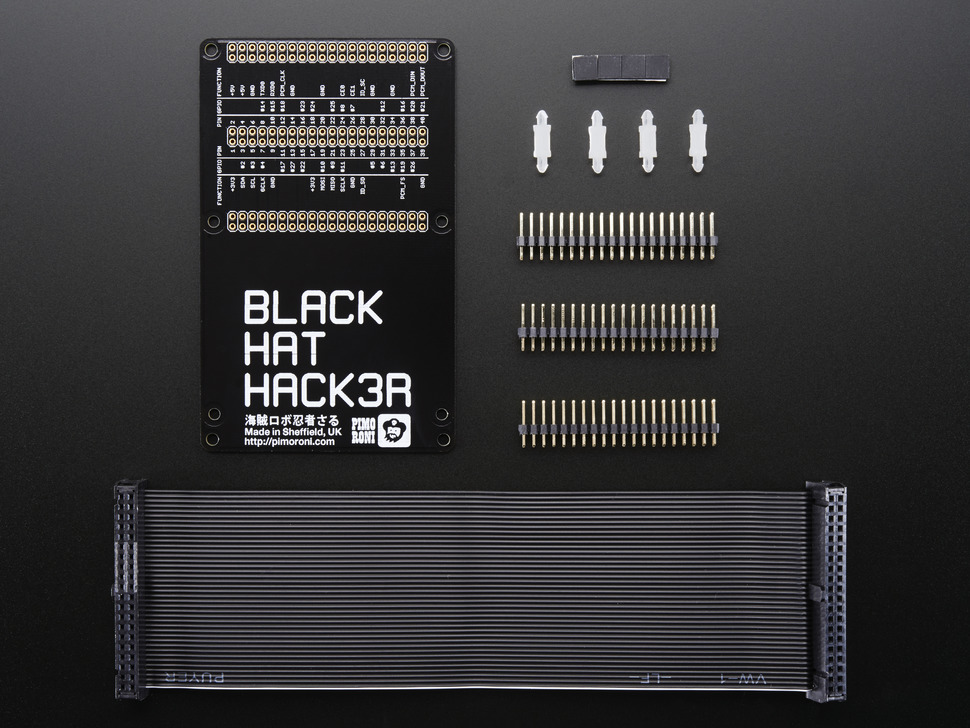 Pimoroni Black HAT Hack3r Kit