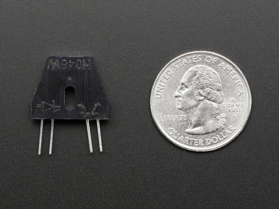 Reflective Infrared IR Optical Sensor with 470 and 10K Resistors