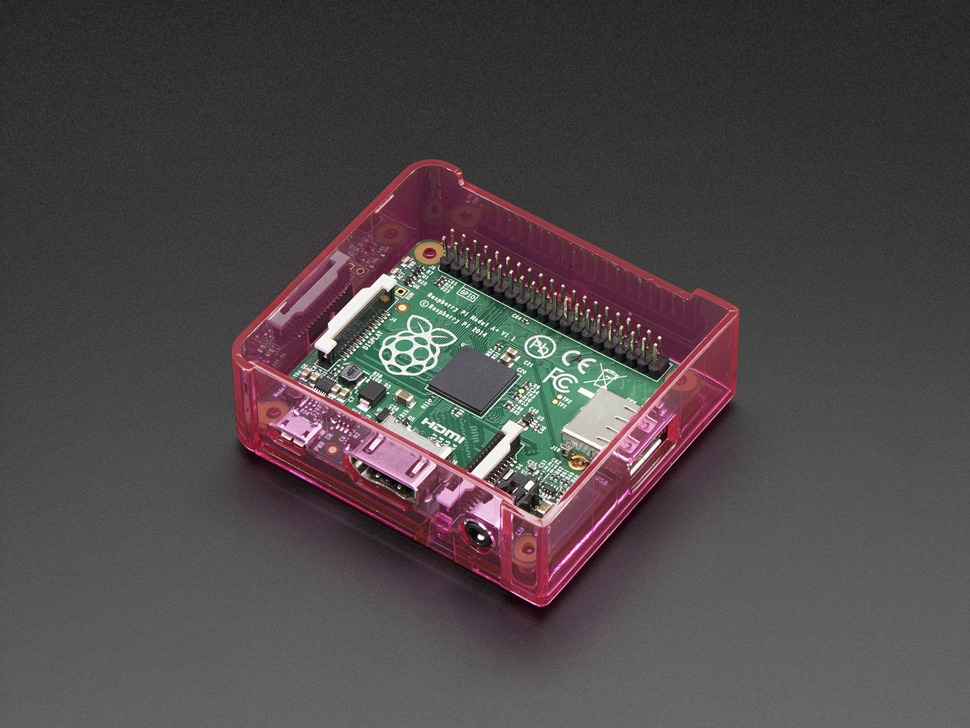 Pi Model A+ Case Base - Pink