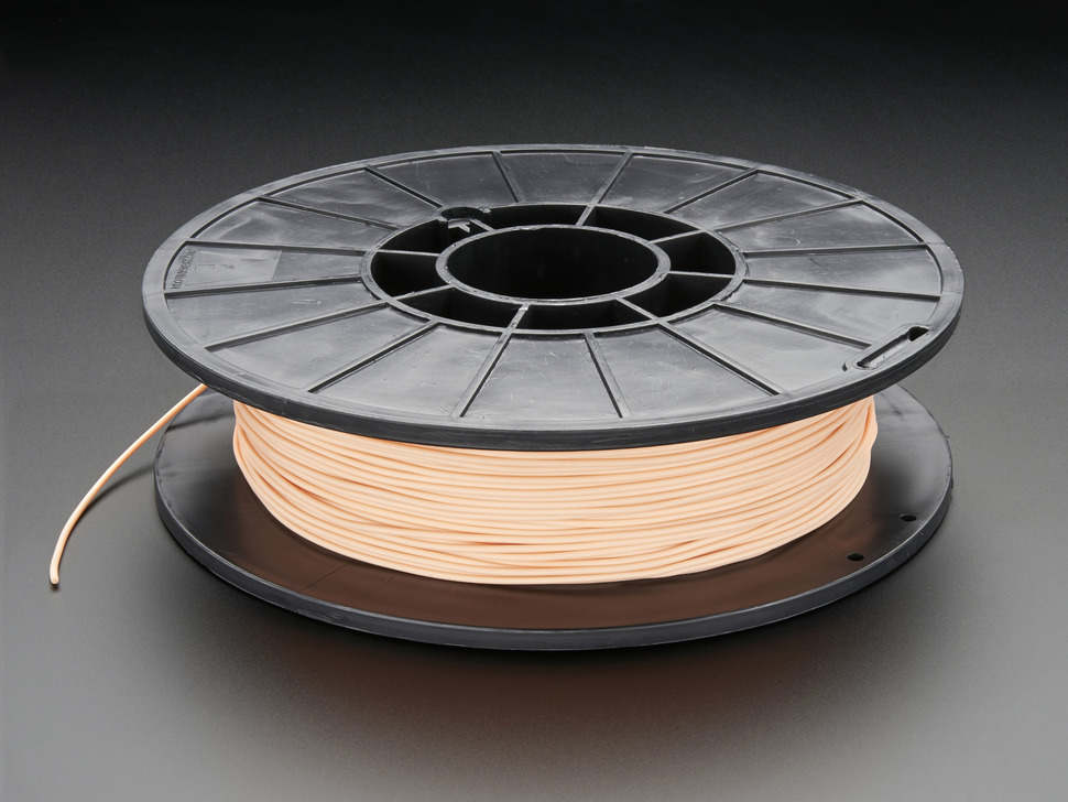 Spool of NinjaFlex Filament for 3D Printers - rose-gold blush color with 1.75mm Diameter.