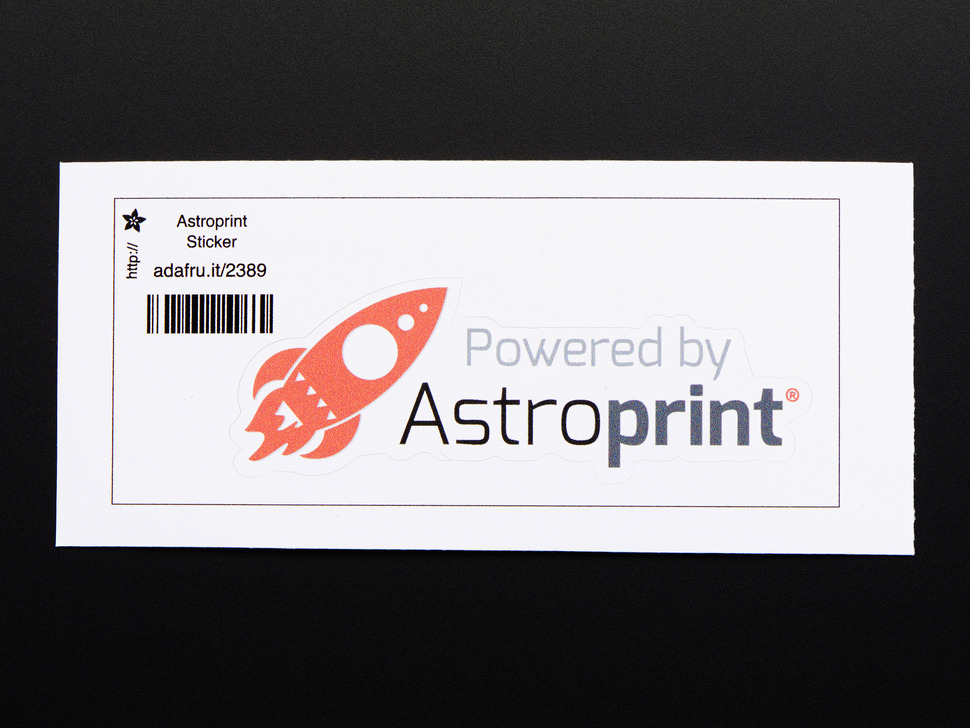 Astroprint Vinyl Sticker!