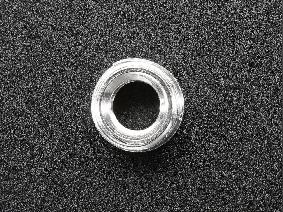 Bottom of screw detail