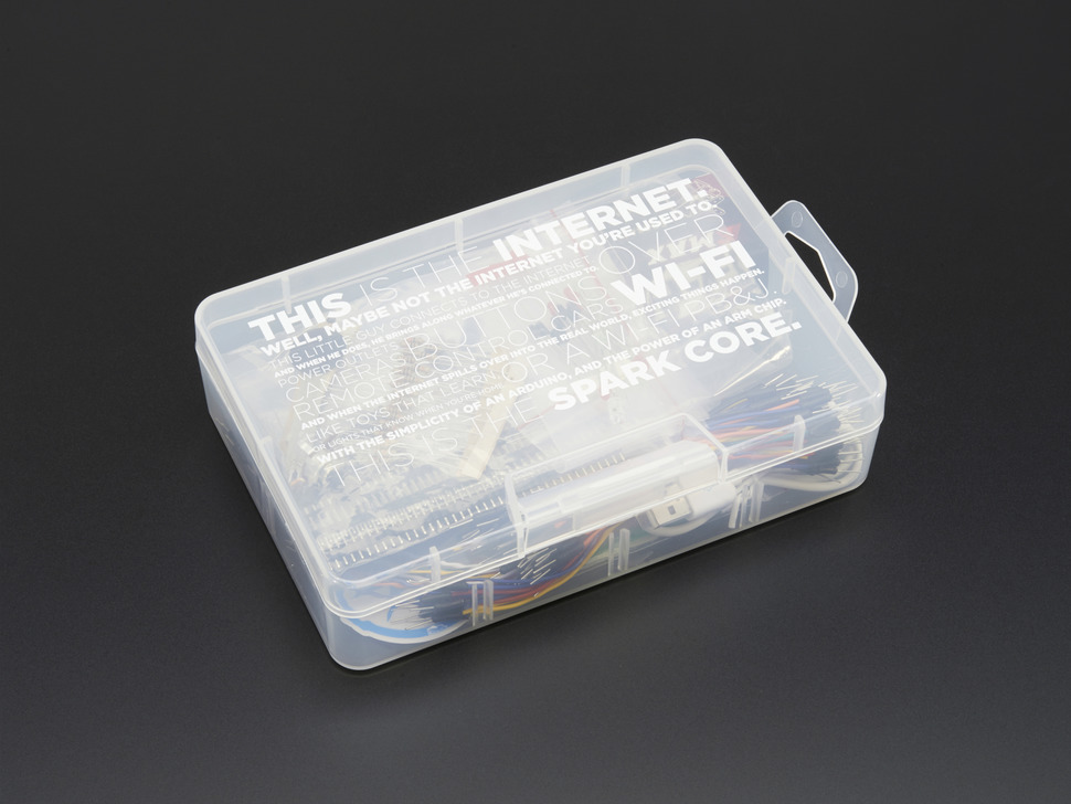 Particle Maker Kit plastic packaging box