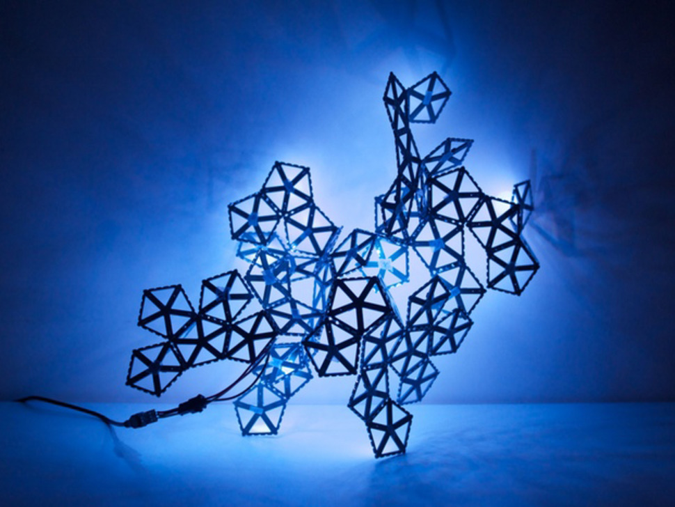 BlinkyTile - Light Sculpture Kit