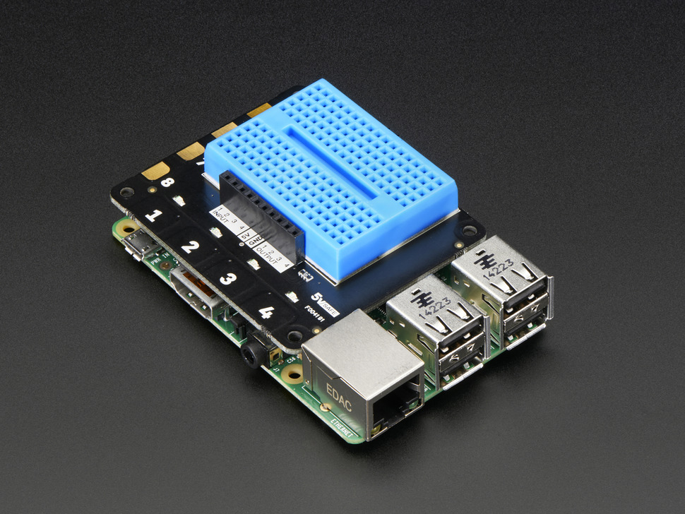 Pimoroni Explorer HAT for Raspberry Pi