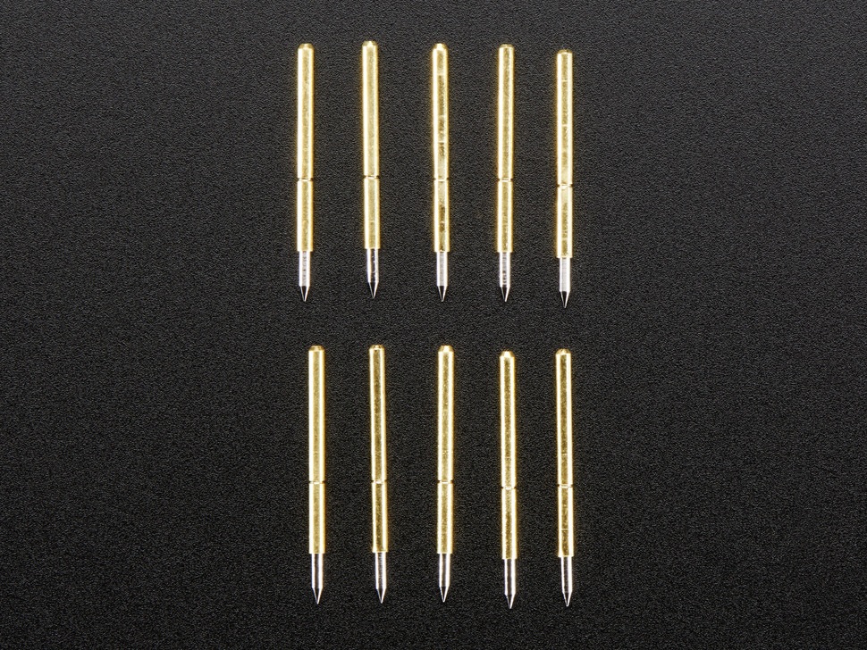"Pogo Pins ""Needle Head"" (10 pack) - P75-B1"