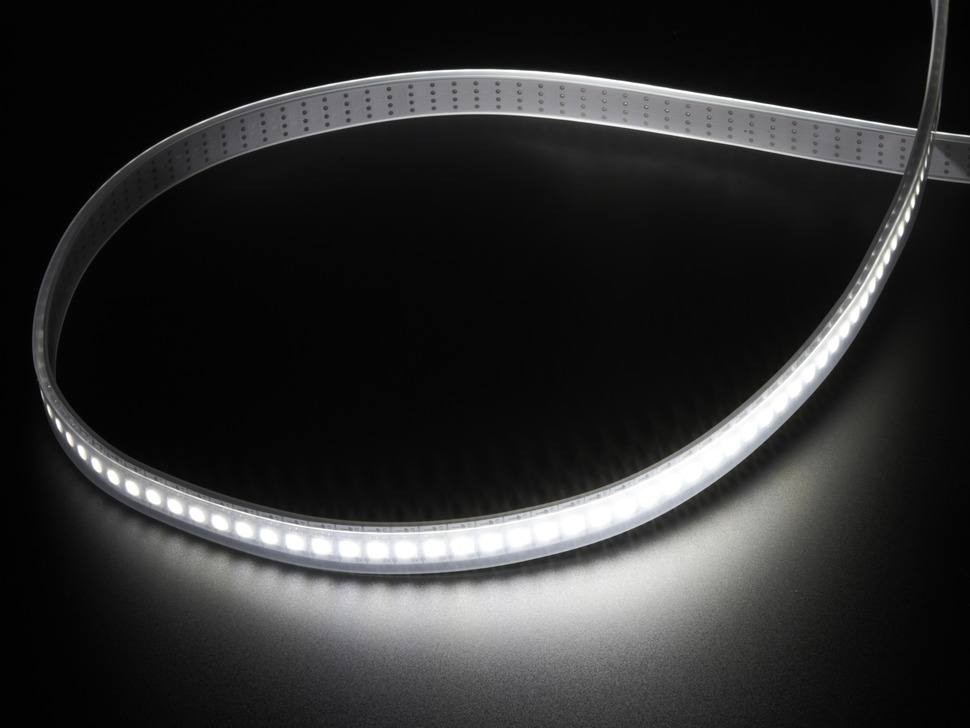 Adafruit DotStar LED Strip - APA102 Cool White - 144 LED/m - ~6000K - One Meter