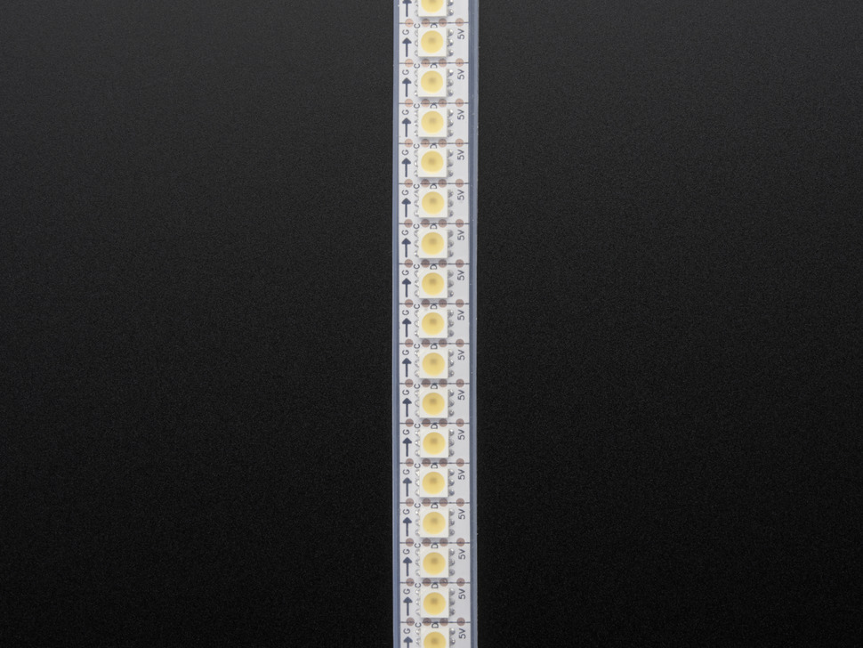 Adafruit DotStar LED Strip - Cool White - 144 LED/m - ~6000K - One Meter
