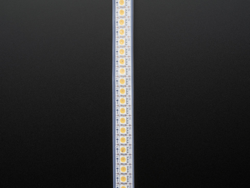 Adafruit DotStar LED Strip - Warm White - 144 LED/m - ~3000K - One Meter