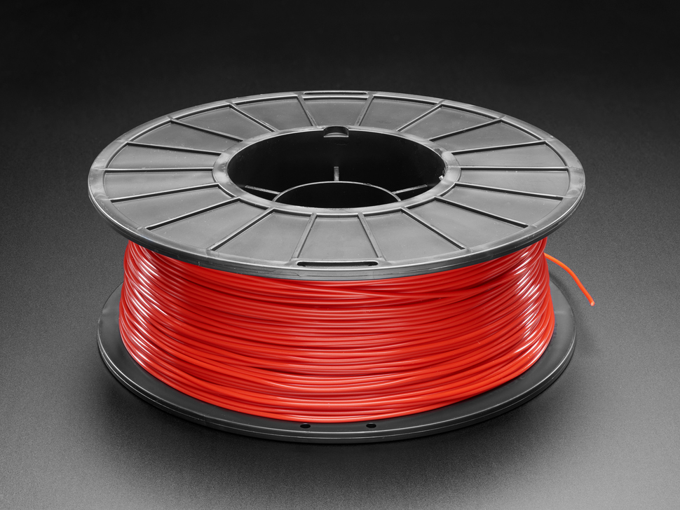 PLA Filament for 3D Printers - 1.75mm Diameter - Red- 1KG