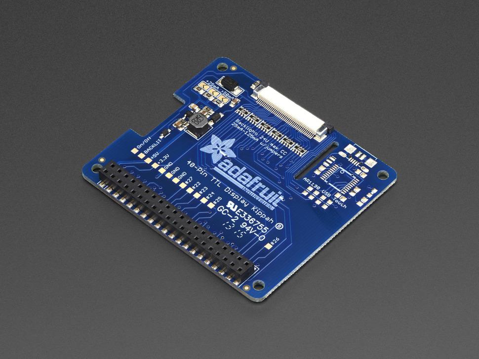 Adafruit DPI TFT Kippah for Raspberry Pi