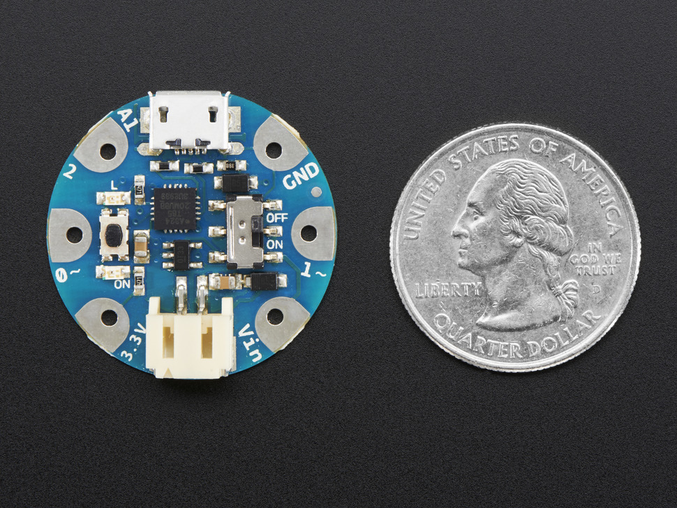 Arduino GEMMA - Miniature wearable electronic platform