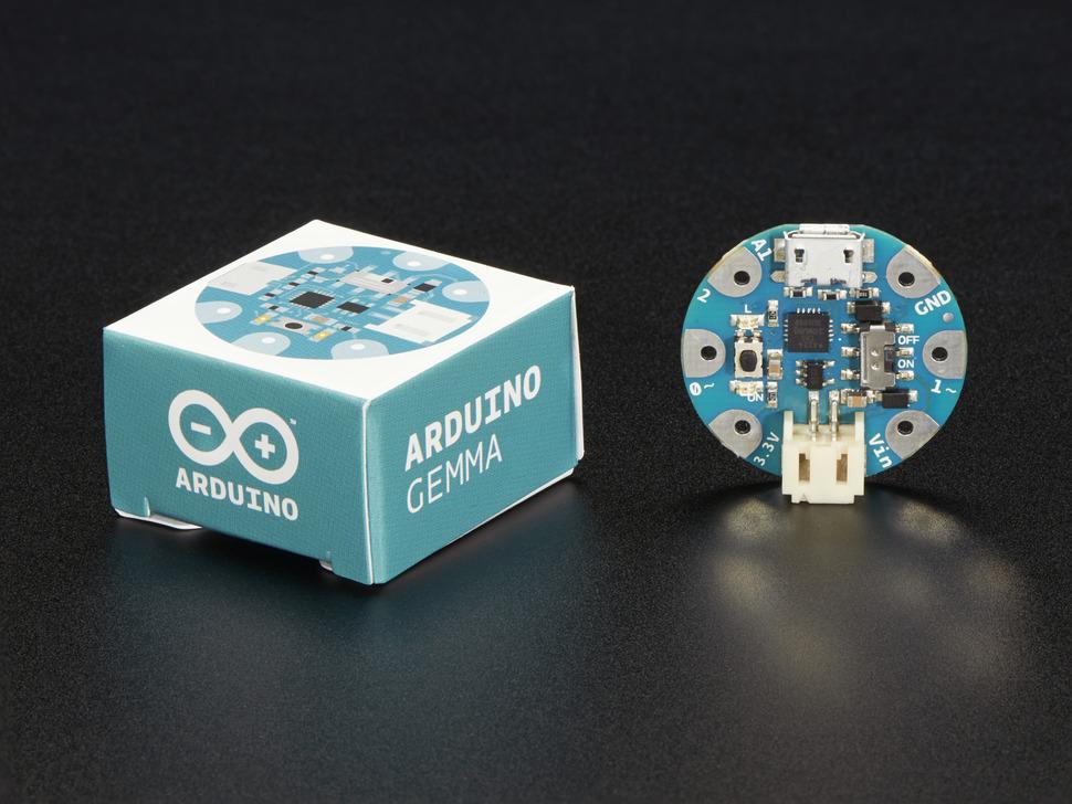 Arduino gemma miniature wearable electronic platform id