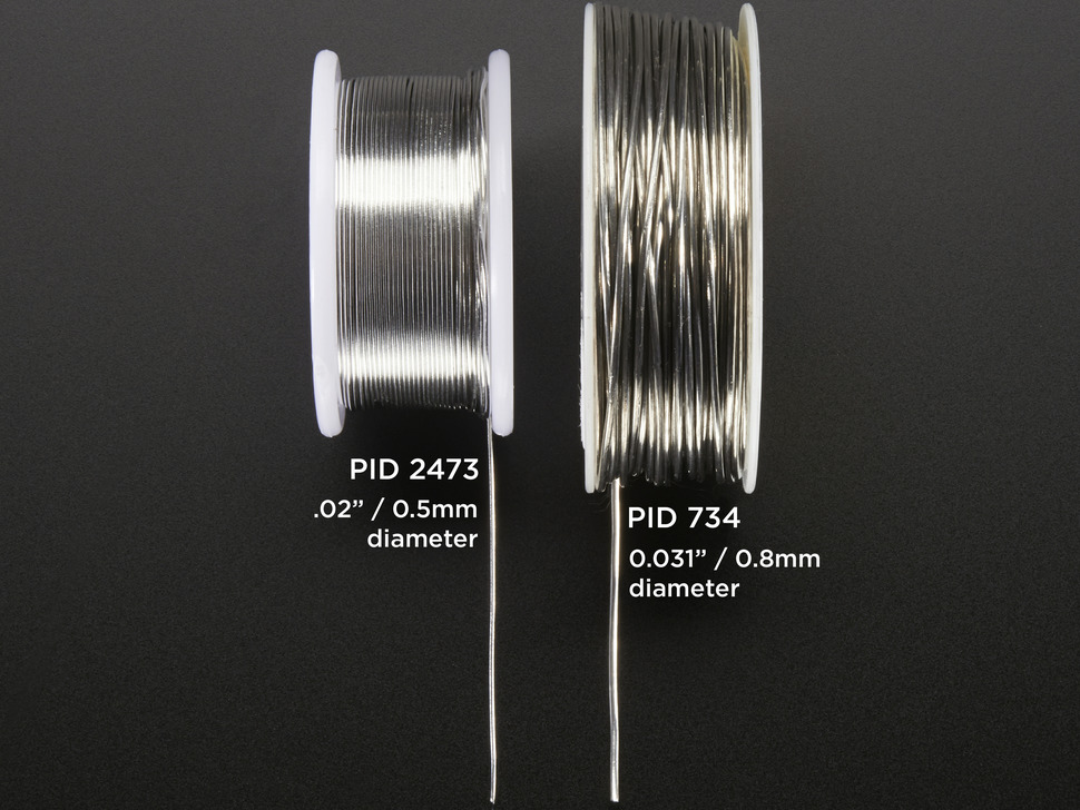 "Solder Wire - RoHS Lead Free - 0.5mm/.02"" diameter - 50g"