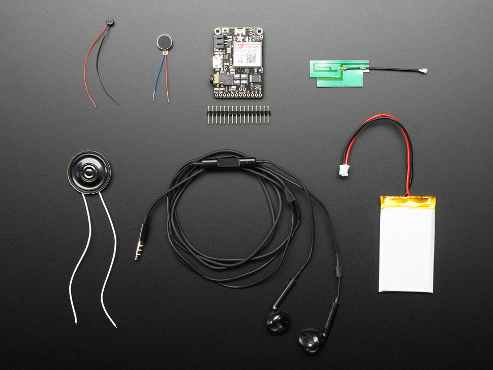 Adafruit FONA - uFL Version Starter Pack