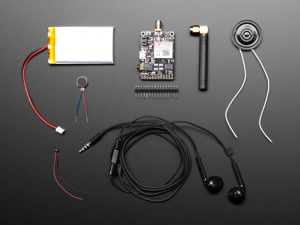 Adafruit FONA 800 Breakout Board Starter Pack - SMA Version