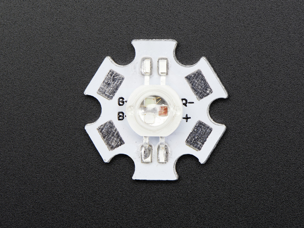 3W RGB LED - Common Anode