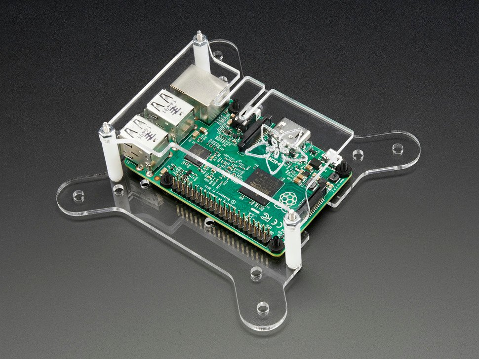 Adafruit VESA Mount Plus for Raspberry Pi
