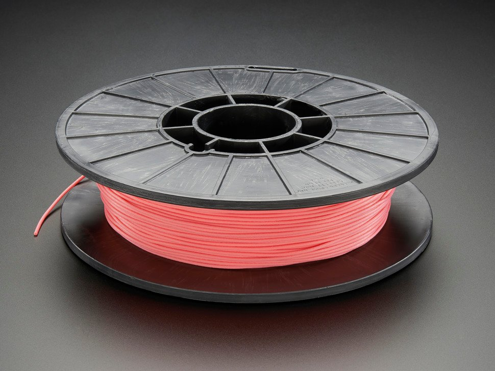 NinjaFlex - 1.75mm Diameter - Flamingo Pink - .50 Kg