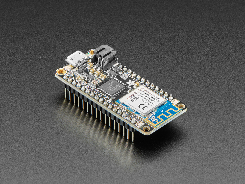 Assembled Adafruit Feather M0 WiFi - ATSAMD21 + ATWINC1500