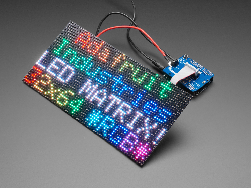 Adafruit RGB Matrix Shield for Arduino