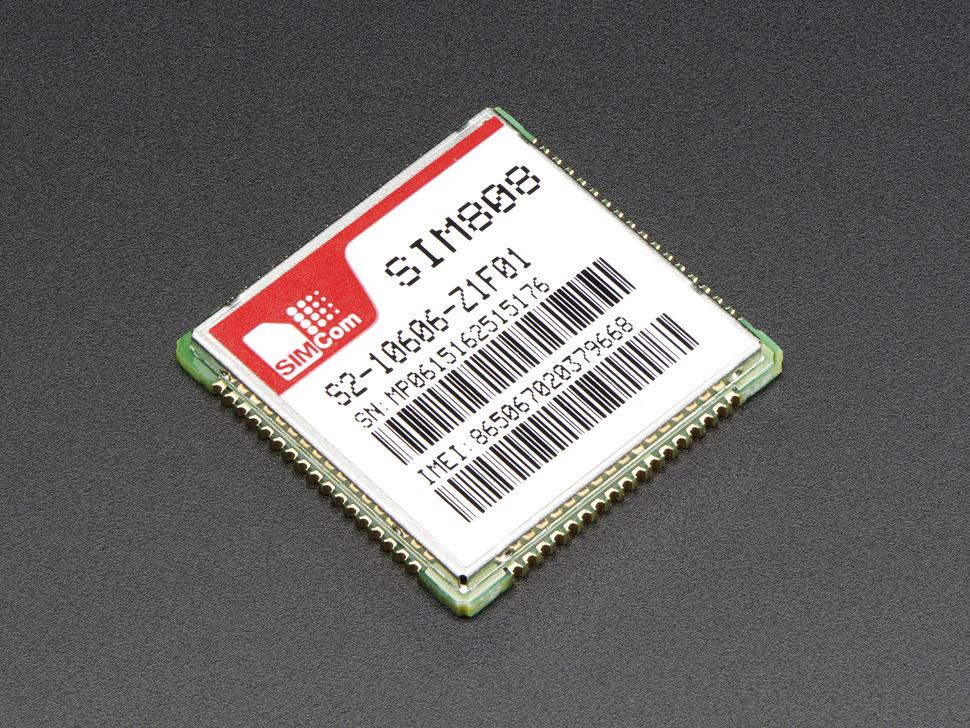 SIM808 GSM + GPRS + GPS Cellular Module