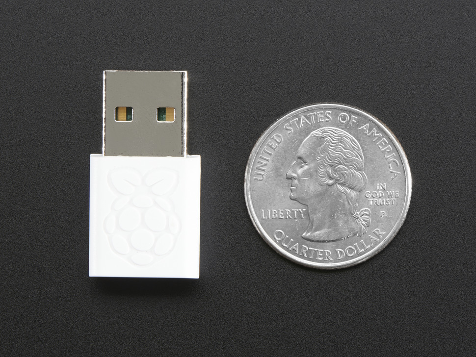 Miniature WiFi Module - Official Raspberry Pi Edition