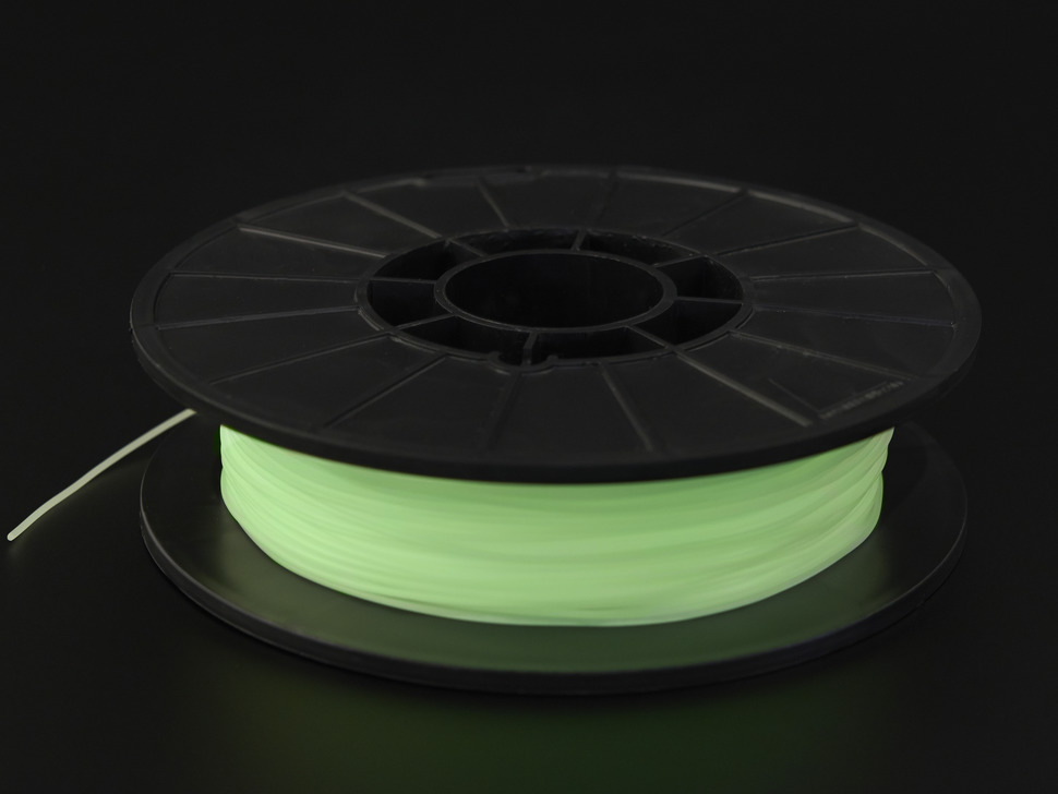 NinjaFlex - 1.75mm Diameter - Glow in the Dark - 0.5 Kg