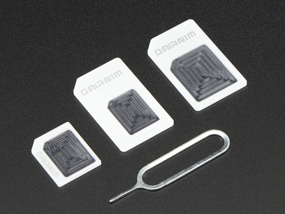 SIM Card Adapters - Pack of 3