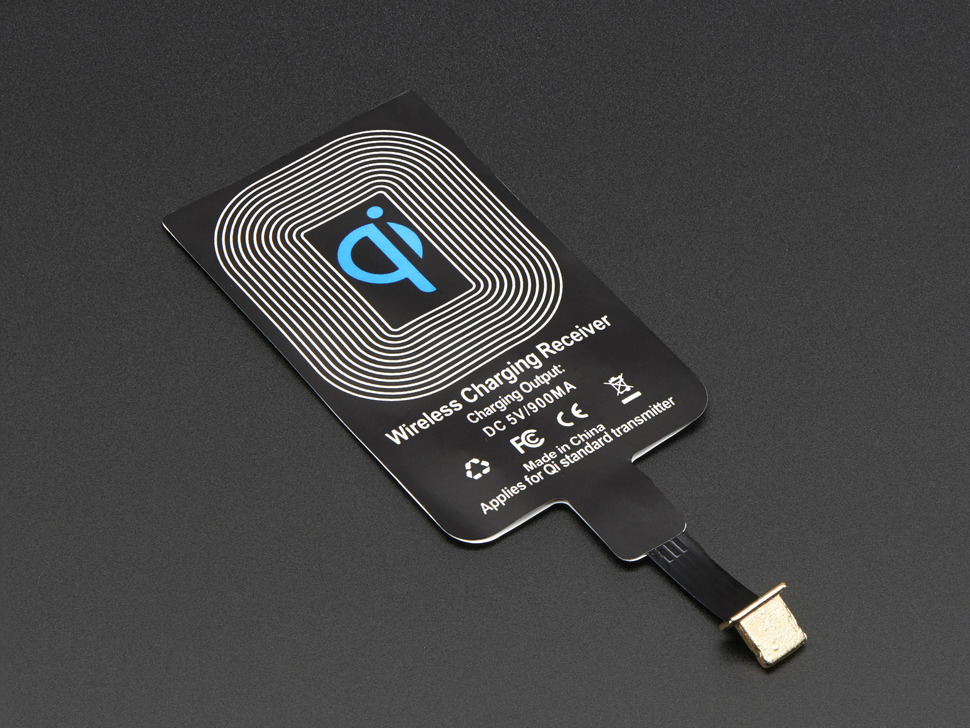 qi wireless charging module 20mm lightning connector id 2677 adafruit industries. Black Bedroom Furniture Sets. Home Design Ideas