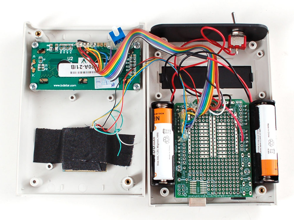 White Enclosure for Arduino - Electronics enclosure - 1.0