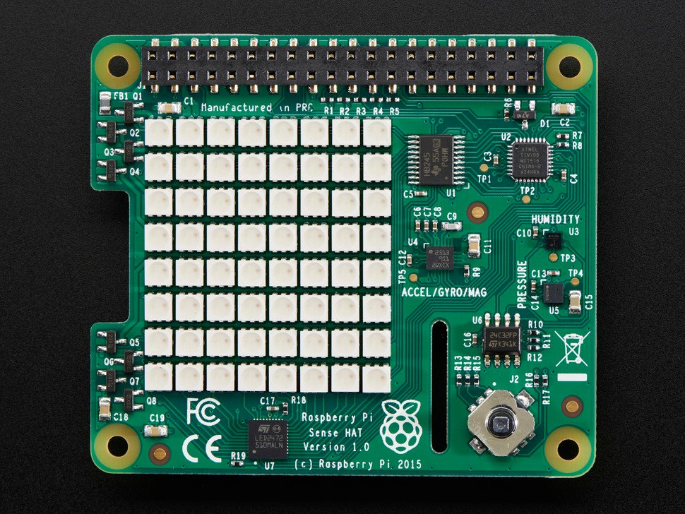 Raspberry Pi Sense HAT - For the Pi 3 / 2 / B+ / A+
