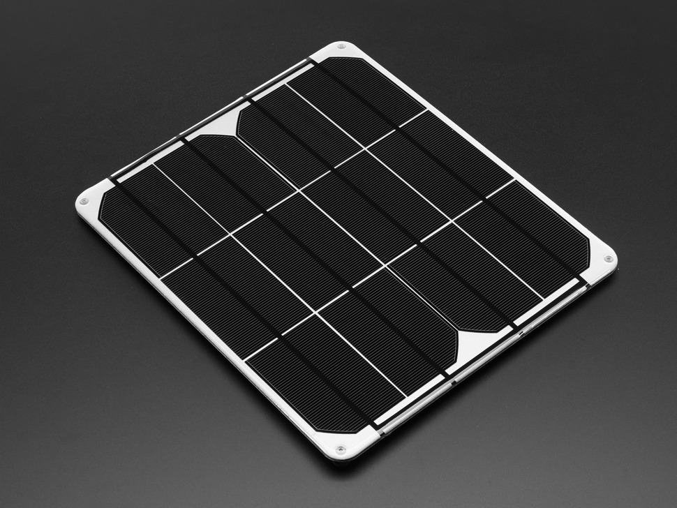 Colossal 6V 9W Solar Panel - 9.0 Watt
