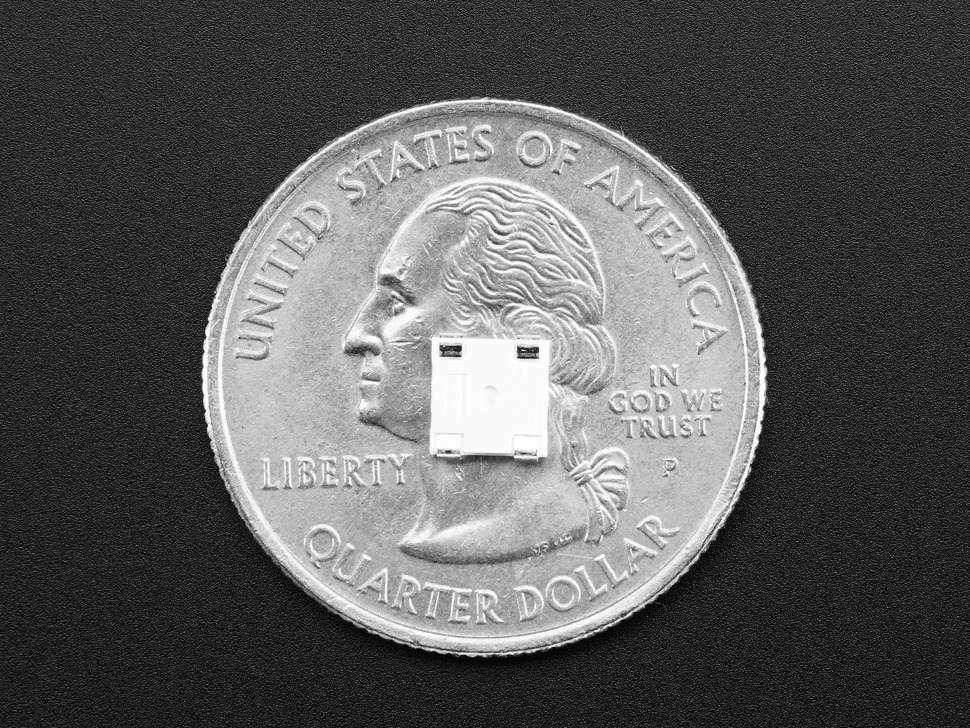 Back of LED on quarter