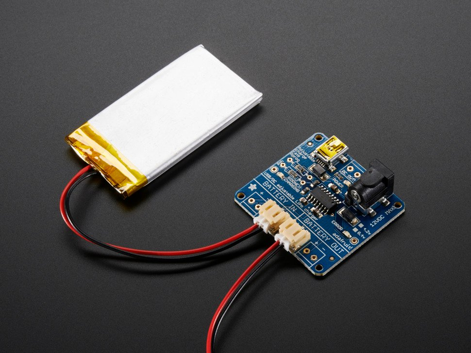 USB/DC  Lithium Polymer battery charger 5-12V - 3.7/4.2v cells
