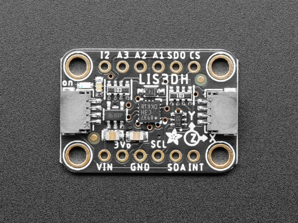 Adafruit LIS3DH Triple-Axis Accelerometer (+-2g/4g/8g/16g)
