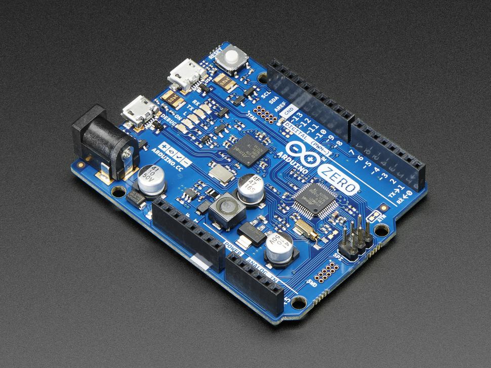 Arduino Zero - 32 bit Cortex M0 Arduino with Debug Interface