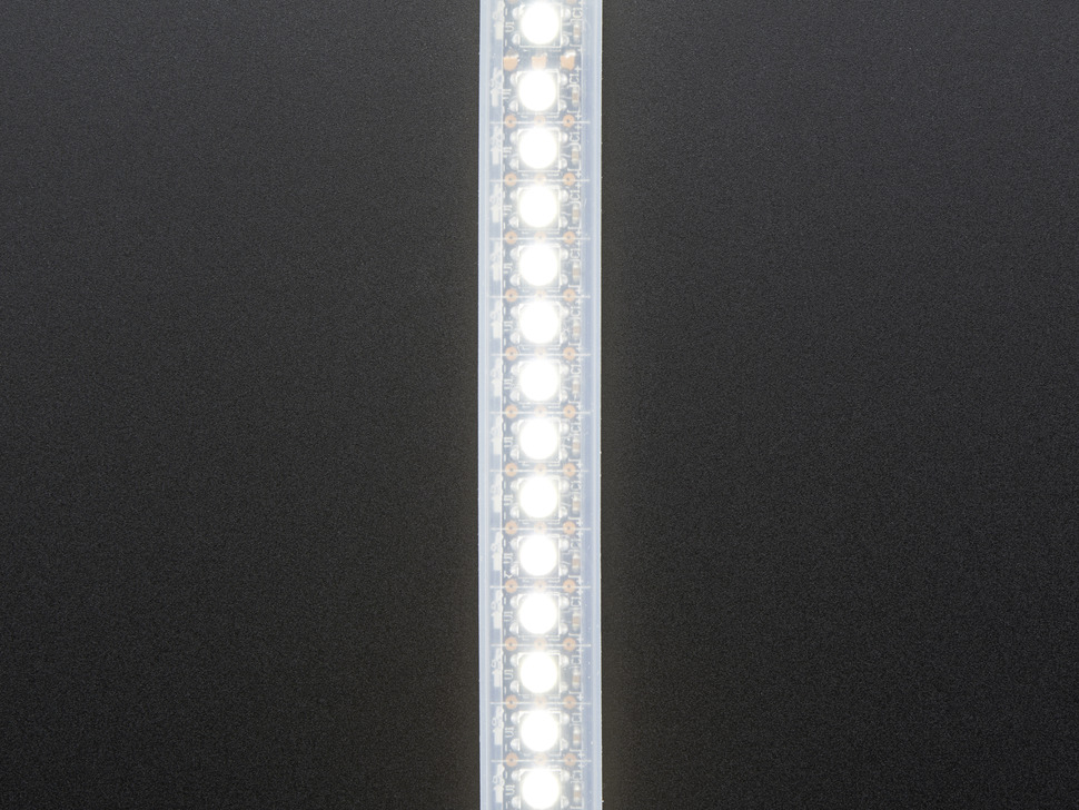 Adafruit NeoPixel Digital RGBW LED Strip - Black PCB 144 LED/m - 1m