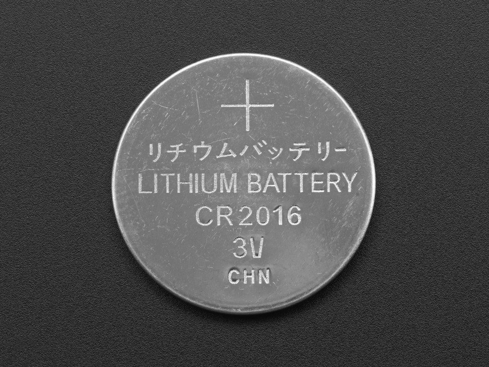 CR2016 Lithium Coin Cell Battery
