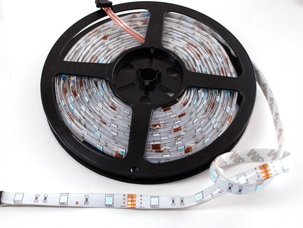 RGB LED weatherproof flexi-strip - 30 LED/m
