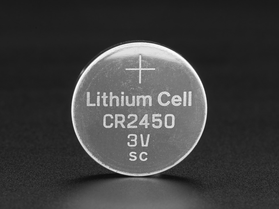 3v lithium coin cell