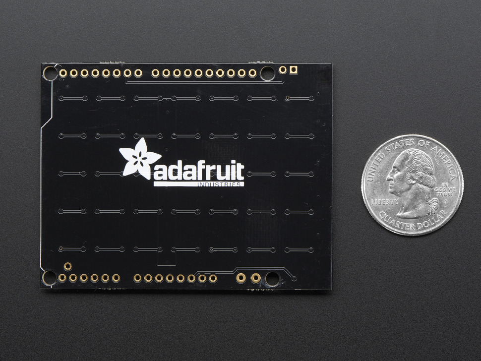 Adafruit NeoPixel Shield - 40 RGBW - Cool White - ~6000K