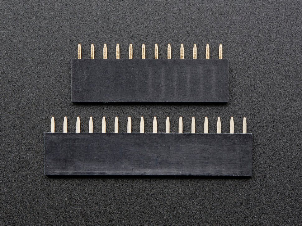 Header Kit for Feather - 12-pin and 16-pin Female Header Set