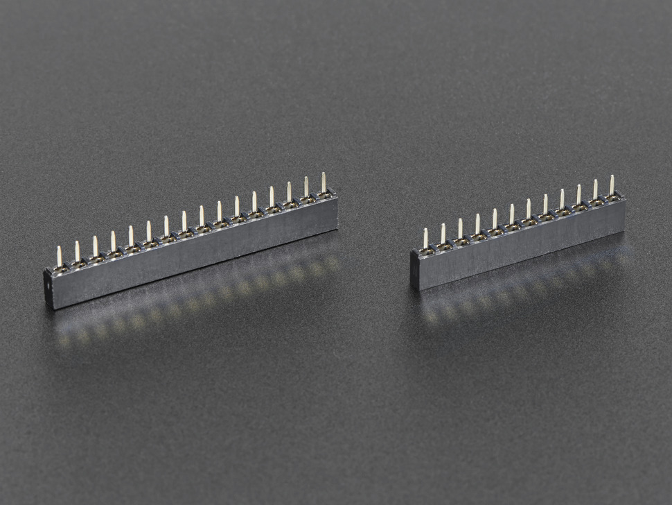 Short Headers Kit for Feather - 12-pin + 16-pin Female Headers