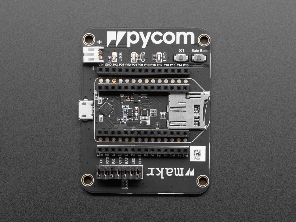 Expansion Board 3.1 for WiPy IoT Development Platform