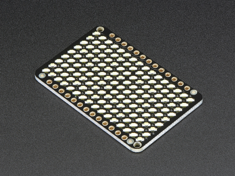 LED Charlieplexed Matrix - 9x16 LEDs - Cool White