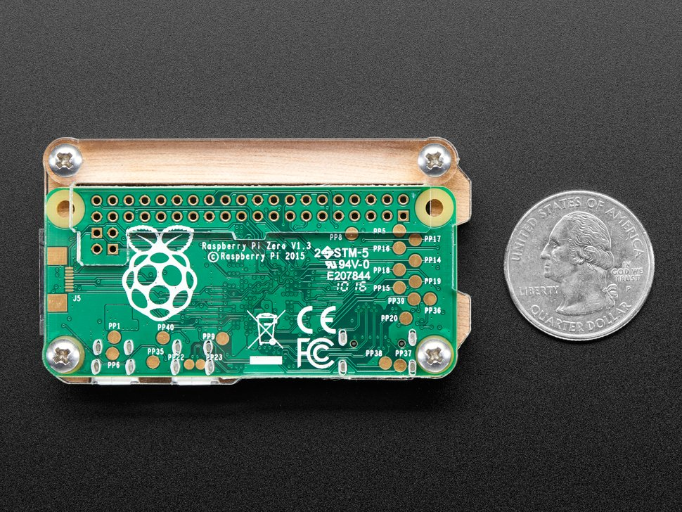 C4Labs Zebra Zero for Raspberry Pi Zero
