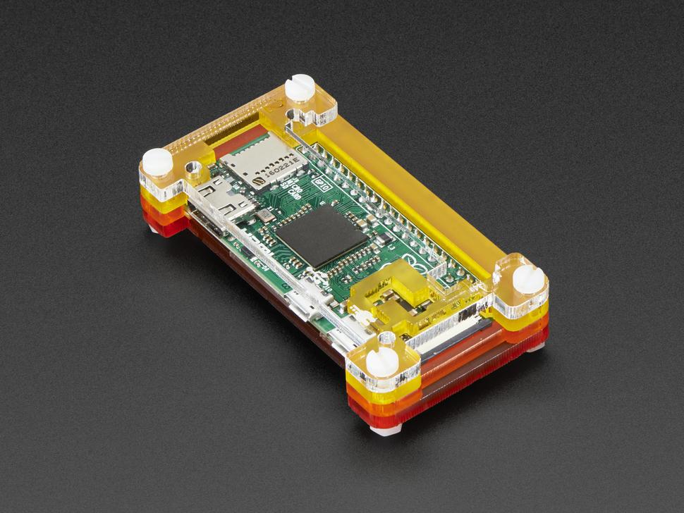 Pibow Zero Case for Raspberry Pi Zero v1.3